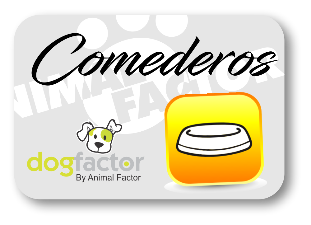 Comederos para mascotas Animal Factor